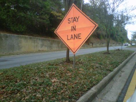 Stay In (Your) Lane - Edition #2